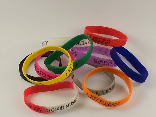 A Key Records Wristbands