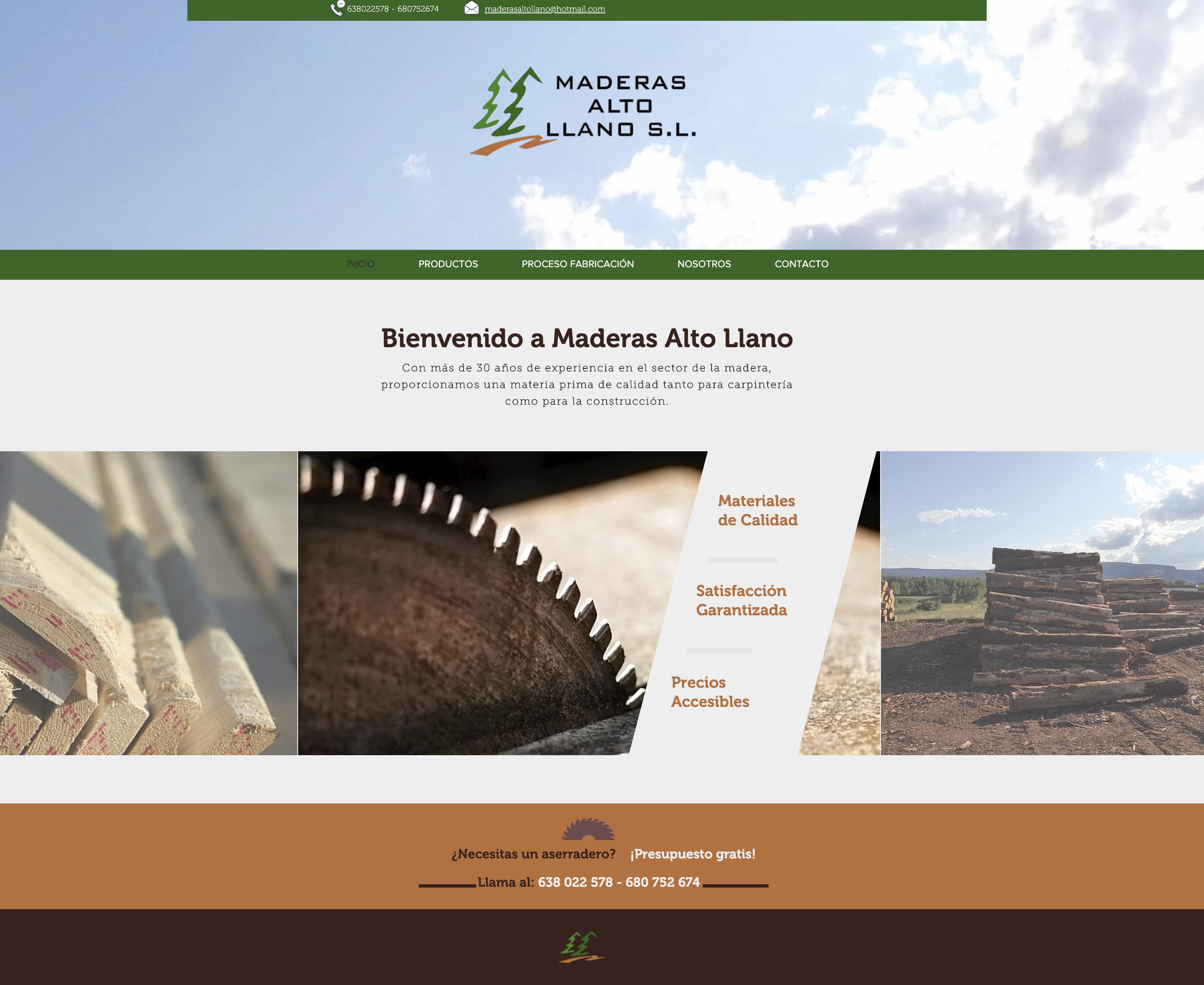 Maderas Alto Llano