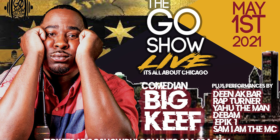 """""""THE GO SHOW LIVE"""" May 1st 1213 ARTS CENTER"""