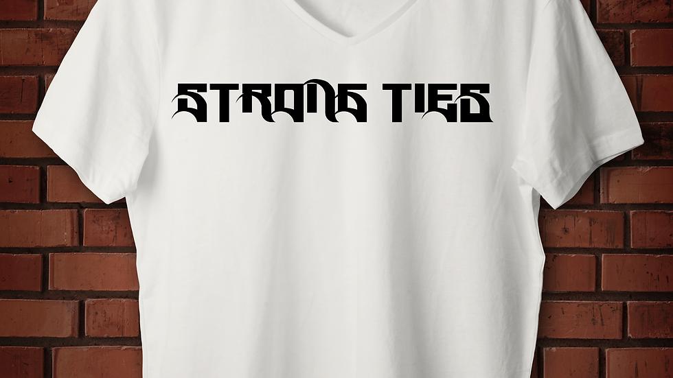 Strong Ties Logo White