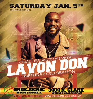 Celebrate Life with Lavon Don Sat Jan 5th