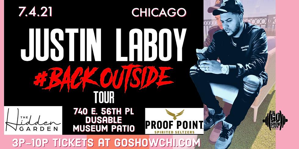 Justin Laboy #Backoutside Tour
