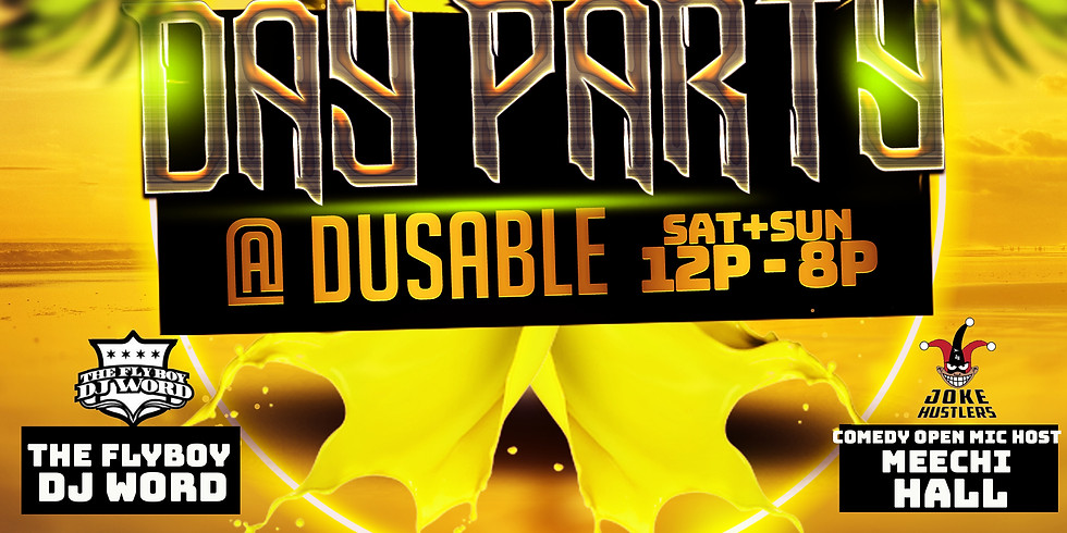 PAINT THE PARK DAY PARTY AUG 23rd