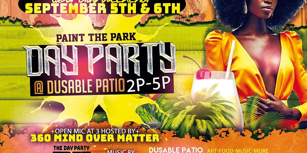 Sep 5th-6th Day Party 2p-5p