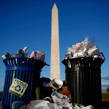 The government shutdown isn't just affecting trash