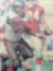 Chidi Ahanotu NFL DE Tampa Bay Bucs Sack Leader Super Bowl Pro