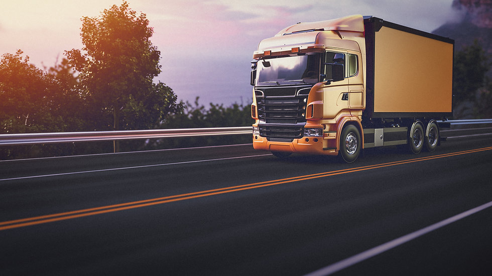 truck-on-the-road-3d-render-and-illustra