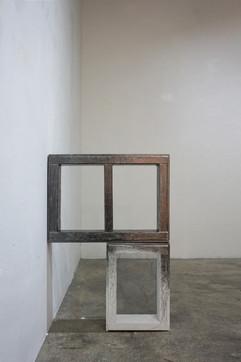 1-2. 틀#1 Frame#1_Graphite on wooden fr