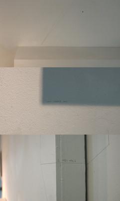 1-6. 틀#4 Frame#4_Spray on paper, penci