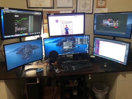 DIY Multi-Monitor Set up at home