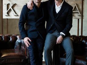 Stylish slow movement – KA/NOA new menswear collection with Patrick Dempsey