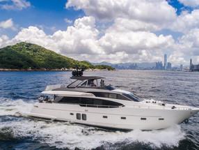 Nautical speed and chic – Sanlorenzo SL78 luxury yacht
