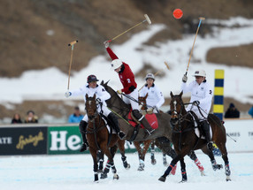 Snow elegance in action – St. Moritz Snow Polo Tournament 2017, St. Moritz
