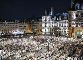 The magic of Parisian white – Le Dîner en Blanc Paris