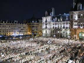 The magic of Parisian white – Le Dîner en Blanc Paris