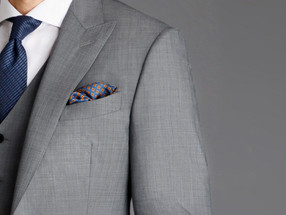Refreshing Tailoring – Black Lapel Savoy Line, New York