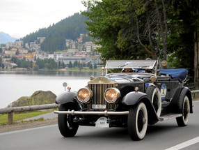 Rally of Alpine elegance – St. Moritz British Classic Car Meeting, St. Moritz