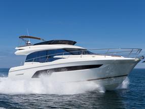 Nautical luxe – Prestige 520 yacht
