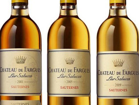 Golden droplets – Chateau de Fargues, Sauternes