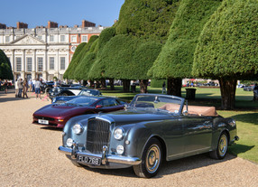 The classic glory - Concours of Elegance 2019, Hampton Court Palace, UK