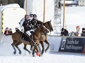 Winter sports with style - Snow Polo World Cup St. Moritz 2020