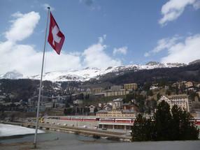 Alpine chic fantasy – St. Moritz