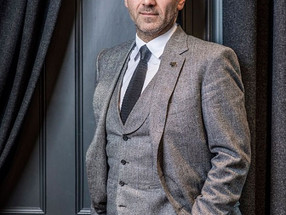 Meeting the debonair Jason Basmajian, Chief Creative Offier of Gieves  & Hawkes