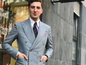 An artisanal conversation with Maximilian Mogg – Berliner tailor, style icon and Founder of Maximili