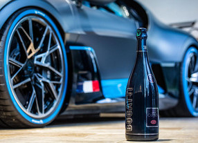 High speed bubblies - Champagne Carbon x Bugatti special edition