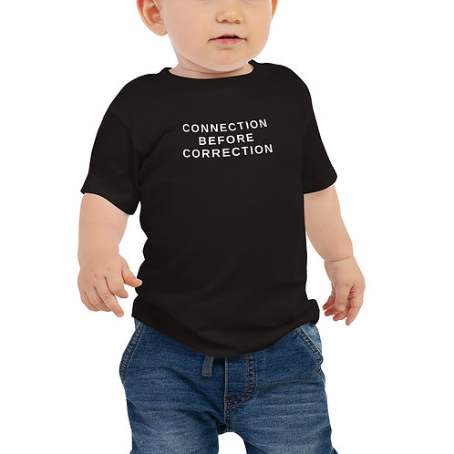 Connection before correction baby T-shirt