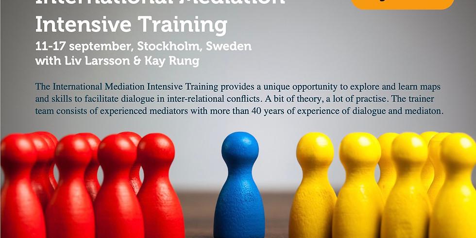 International Mediation Intensive in Stockholm