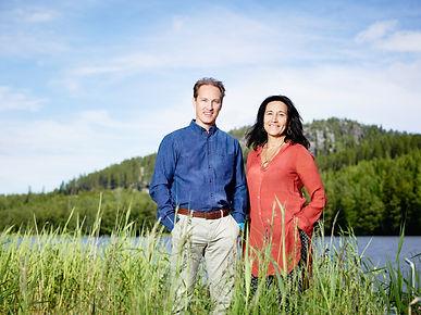Kay Rung och Liv Larsson