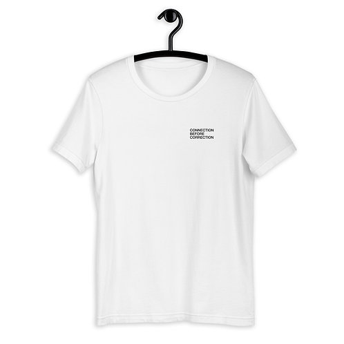 Connection before correction T-shirt Unisex
