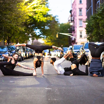 NYC yoga photography