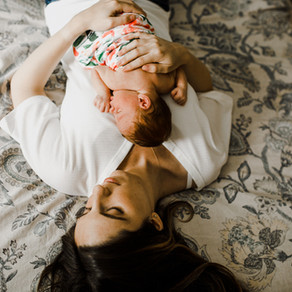 Why In Home Family Portrait Photography is So Important | Long Island Family + Newborn Photographer