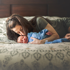 Long Island Newborn | Why choose home newborn photography instead of traditional posed?