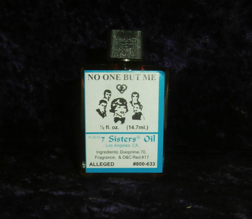7 SISTERS OIL - No One But Me Oil