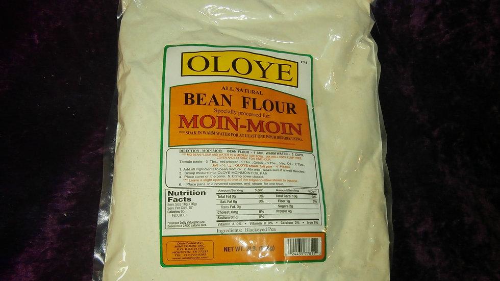 Moin-Moin (Bean Flour) Net Wt. 2 lbs. (906g)