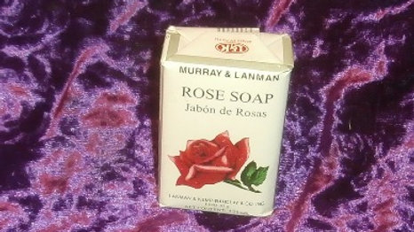 Murray & Lanman Rose Soap Net Wt. 3.35 oz