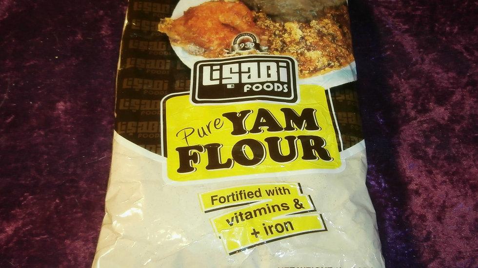 Elubo / Amala - Pure Yam Flour Net Wt. 1kg / 35.3 oz.