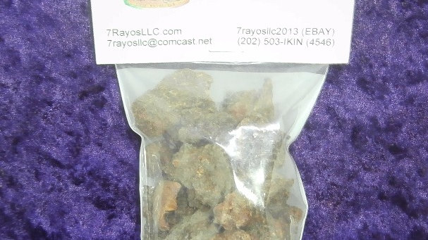 Myrrh Resin Incense Net Wt 2 oz