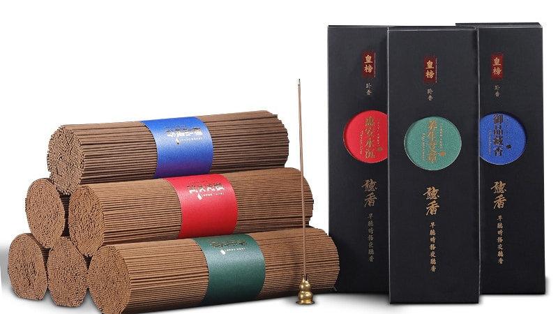 Tibetan Incense Sticks 300g , 21cm - Sandalwood, Wormwood Scented, 2.3mm Width