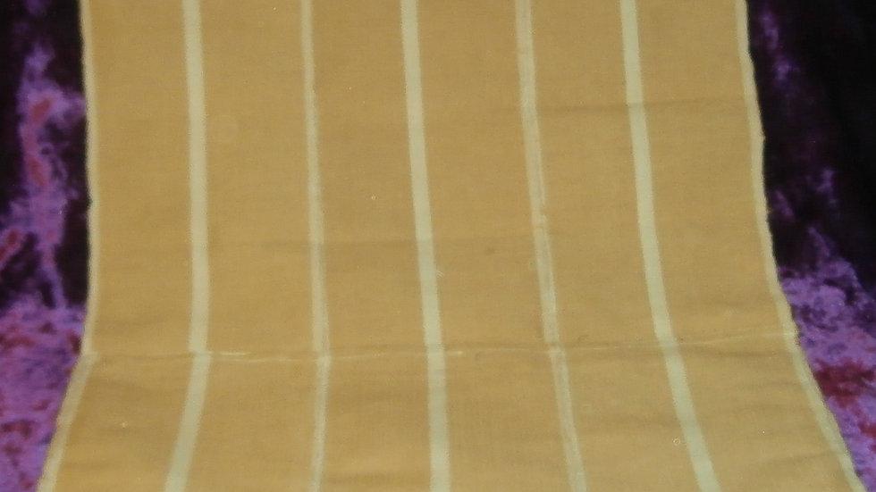 Apo IFA / Traditional Divination Bag - Tan & White
