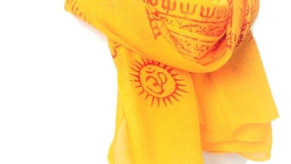 OMSutra OM Hindu Prayer Shawl - Small