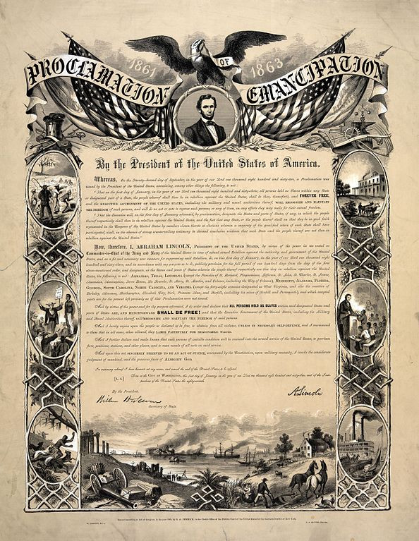 Proclamation of Emancipation