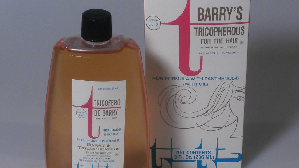 Barry's Tricopherous w/Oil Hair Tonic 4 fl oz