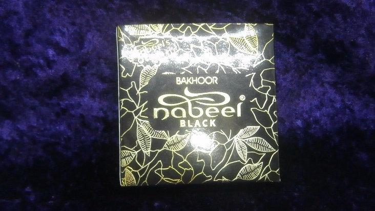 Bakhoor Nabeel Black