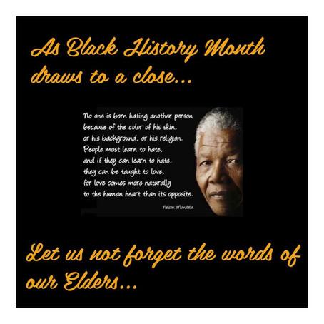 Words of Wisdom from an Elder