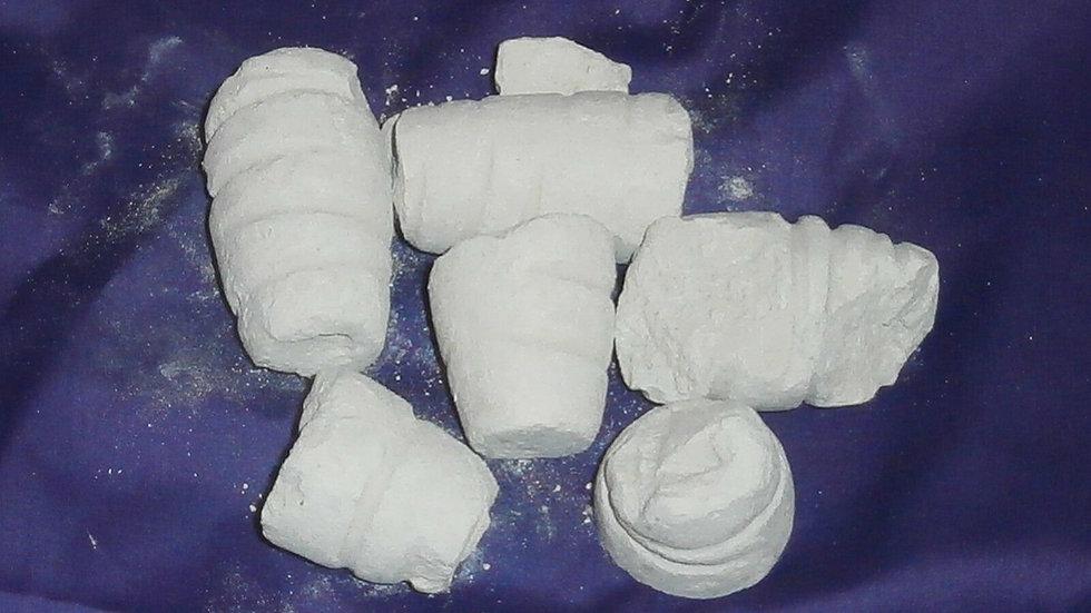 African Efunfun (Traditional Cascarilla) DAMAGED Net Wt. 8 oz
