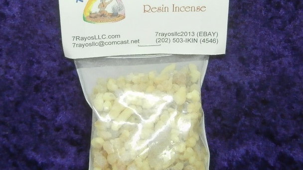 Frankincense Resin Incense Net Wt. 2 oz